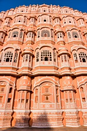 polygamy: Hawa Mahal, the Palace of Winds, Jaipur, Rajasthan, India