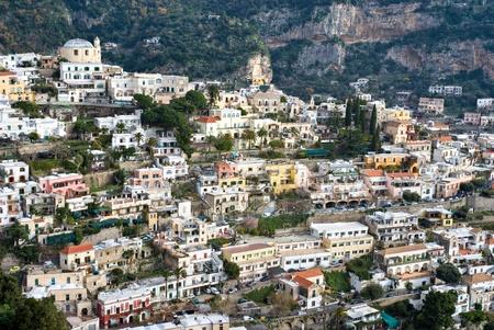 Panoramic view of Positano, Gulf of naples, italy. Stock Photo - 9076734