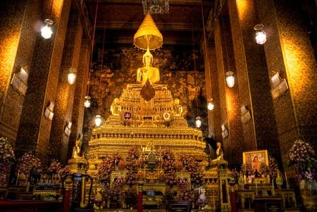 Buddha inside Wat Phra Kaeo Temple, bangkok, Thailand