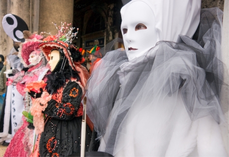mardigras: masks in Venice for carnival, Italy