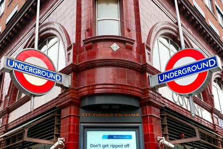 tube station: LONDON - MARCH 15 Transport for London announced that the