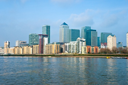 greater: Canary Wharf, London, UK Stock Photo