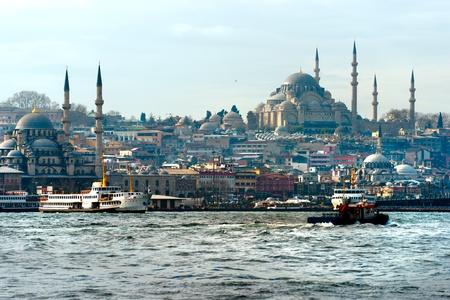 suleymaniye: The beautiful Suleymaniye Camii  Istanbul, Turkey.