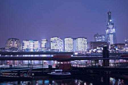 gherkin building: London Skyline London, UK