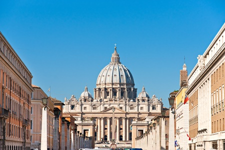 San Peter basilica Rome, Italy. Stock Photo - 11039835