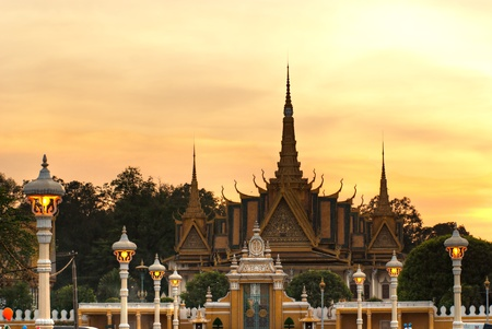 Grand Palace, Pnom Penh, Cambodia