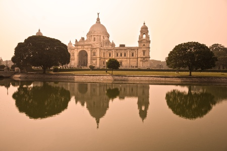 calcutta: Victorial Memorial, Kolkata. India. Editorial