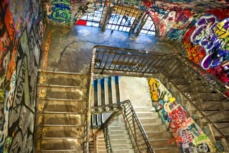 jewish quarter: BERLIN, JANUARY 8  The Kunsthaus Tacheles, formerly a department store in the Jewish quarter of Berlin  After serving as a Nazi prison, the building was taken over by artists, who called it Tacheles  The building now houses an artists collective  January