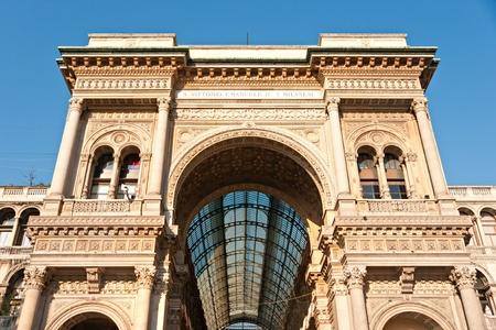 vittorio emanuele: Vittorio Emanuele gallery in Milan, Italy