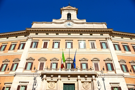 Montecitorio palace, Rome, Italy  Stock Photo - 16628565