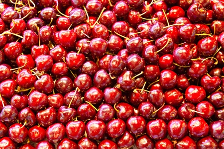 mercat: Cherries.