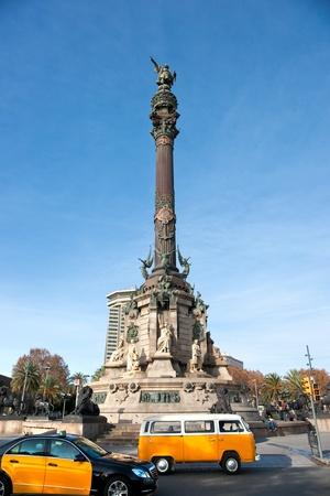 Mirador de Colon, Barcelona, Spain.
