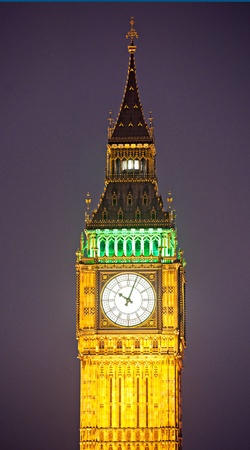 The Big Ben at night, London, UK. Stock Photo - 11860528