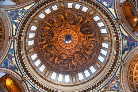 Interior of the St paul Stock Photo - 17678415