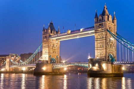 city of london: Tower Bridge, London, UK
