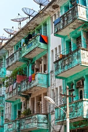 colonial: View of Yangon  Yangon, Myanmar. Editorial