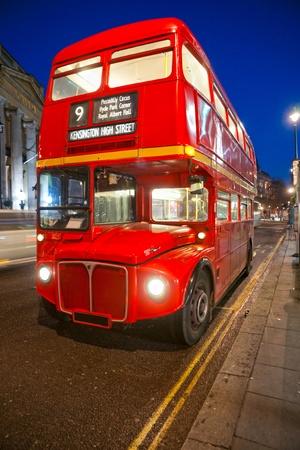 Old double-decker bus, London. UK. Stock Photo - 12412257