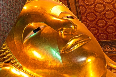 Wat Po, The Temple of reclining buddha,  Bangkok, Thailandia. photo