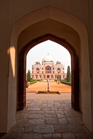 new delhi: Humayun Tomb, Nizamuddin east, New Delhi. India. Editorial