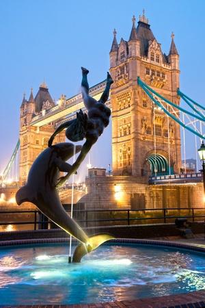 gherkin building: Tower Bridge, London, UK