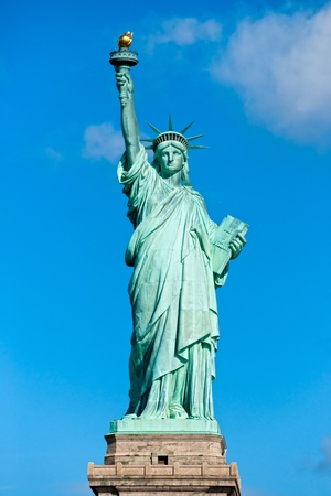 Symbole am�ricain - Statue de la Libert�. New York, �tats-Unis. photo