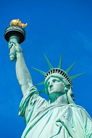 liberty island: Americana simbolo - Statua della Libert?New York, Stati Uniti d'America.