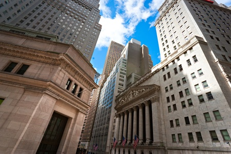 NEW YORK CITY - MARCH 30: The historic New York Stock Exchange is the largest stock exchange in the world March 30, 2010 in New York City, USA.