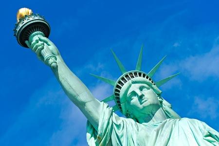 American symbol - Statue of Liberty. New York, USA.  photo
