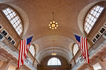 Ellis Island,  New York, USA.