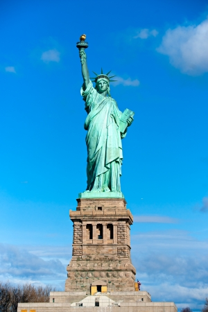 American symbol - Statue of Liberty. New York, USA.  Stock Photo