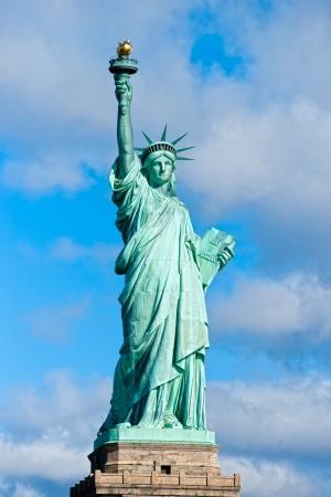 liberty island: Simbolo americano - Statua della Libert�. New York, USA. Archivio Fotografico