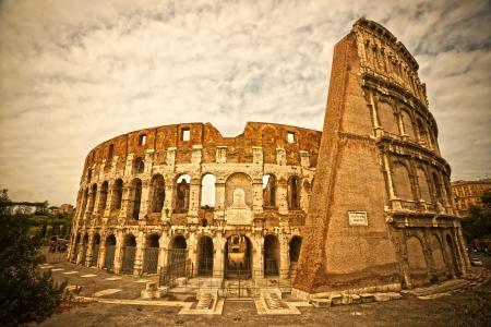 amphitheater: The Majestic Coliseum Amphitheater, Rome, Italy