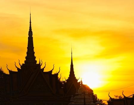 penh:  The royal palace in Cambodias capital Phnom Penh Stock Photo