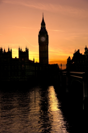 eye traveller: The Big ben and the Houses of parliament, London, UK  Stock Photo