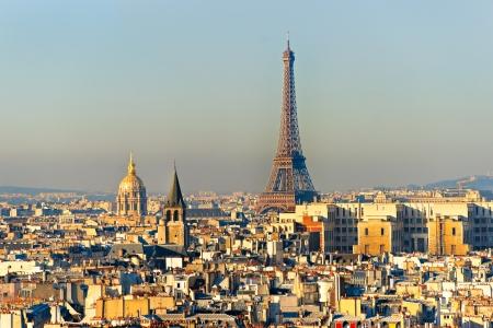 View on Eiffel Tower, Paris, France photo