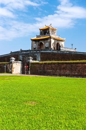 Entrance of Citadel, Hue, Vietnam