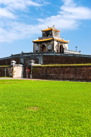 hue: Entrance of Citadel, Hue, Vietnam