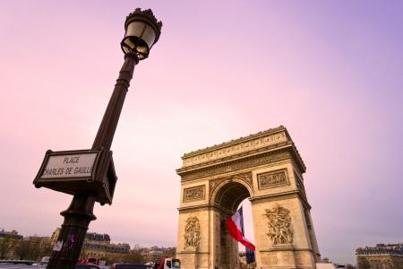 napoleon fish: Paris, Arc de Triomphe