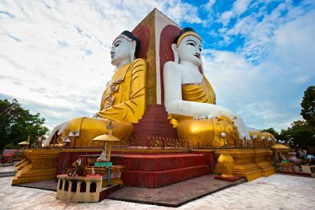 Kyaik Pun Paya, Bago, myanmar. Stock Photo - 17655720