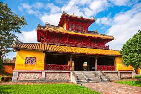 citadel: Entrance of Citadel, Hue, Vietnam.