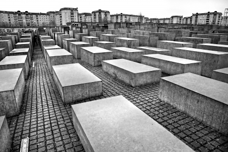 holocaust: HOLOCAUST MEMORIAL, Berlin, Germany.