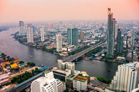 Bangkok skyline, Thailand. photo