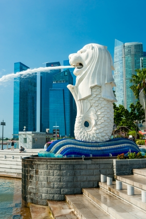 The Merlion , Singapore