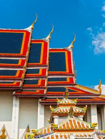 kaew:  Wat Phra Kaew, Bangkok ,Thailand Stock Photo