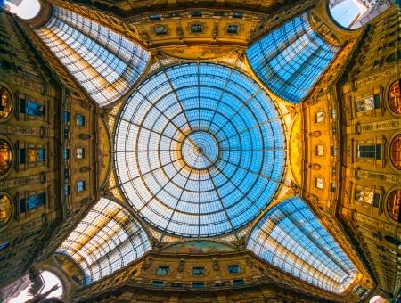 vittorio emanuele: Vittorio Emanuele gallery, Milan, Italy