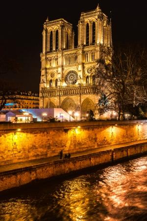 la tour eiffel: Cathedral of Notre dame de Paris, France