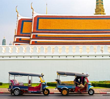 tuk tuk: Tuk tuk waiting passengers, Bangkok. Thailand.