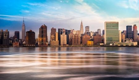 onu: Panoramic view of Manhattan, New York City  USA