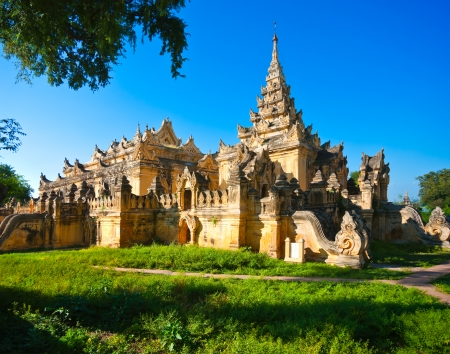 world heritage site: Temple in the plain of Bagan, Myanmar.