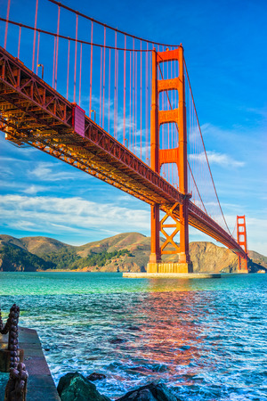 Golden Gate in San Francisco, California, USA. photo